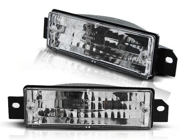 Frontblinker Set BMW E30 BJ 87-06.94  Chrome