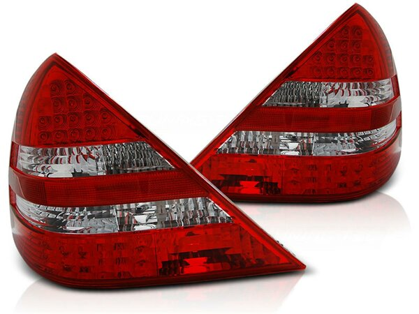 LED Rückleuchten Mercedes Benz SLK R170 BJ 04.96-04 red / white
