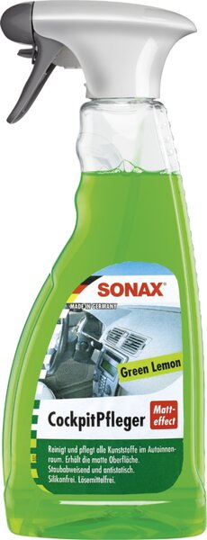 SONAX 03582410  Cockpit Pfleger Matteffect Green Lemon 500 ml